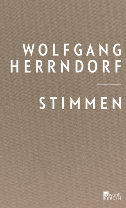 <span style='color: #3c3c3c;'>Wolfgang Herrndorf</span> <br><span style='font-style: italic; font-weight: bold;'>Stimmen</span>
