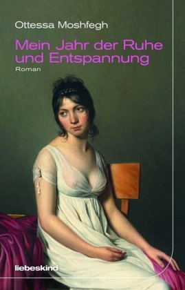 <span style='color: #3c3c3c;'>Ottessa Moshfegh</span> <br><span style='font-style: italic; font-weight: bold;'>Mein Jahr der Ruhe und Entspannung</span>