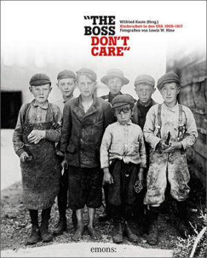 <span style='color: #3c3c3c;'>Lewis W. Hine</span> <br><span style='font-style: italic; font-weight: bold;'>The Boss don`t care</span>