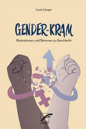 <span style='color: #3c3c3c;'>Louie Läuger</span> <br><span style='font-style: italic; font-weight: bold;'>Gender-Kram. Illustrationen und Stimmen zu Geschlecht</span>