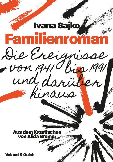 <span style='color: #3c3c3c;'>Ivana Sajko</span> <br><span style='font-style: italic; font-weight: bold;'>Familienroman</span>