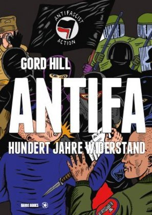 <span style='color: #3c3c3c;'>Gord Hill</span> <br><span style='font-style: italic; font-weight: bold;'>Antifa</span>
