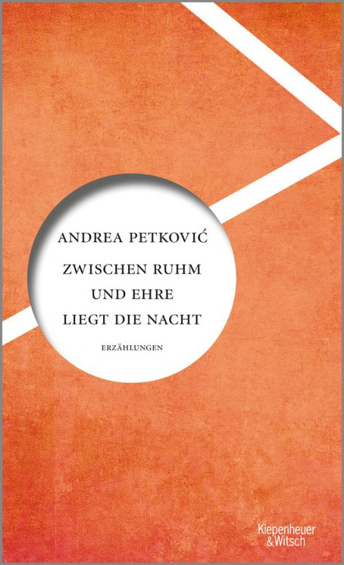 <span style='color: #3c3c3c;'>Andrea Petkovic</span> <br><span style='font-style: italic; font-weight: bold;'>Zwischen Ruhm und Ehre liegt die Nacht</span>
