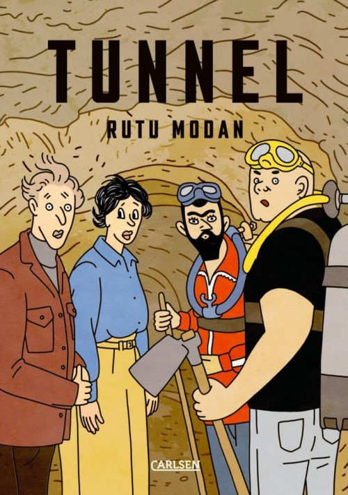 <span style='color: #3c3c3c;'>Rutu Modan</span> <br><span style='font-style: italic; font-weight: bold;'>Tunnel</span>