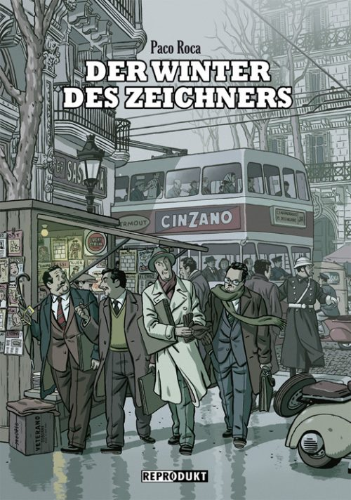 <span style='color: #3c3c3c;'>Paco Roca</span> <br><span style='font-style: italic; font-weight: bold;'>Der Winter des Zeichners</span>