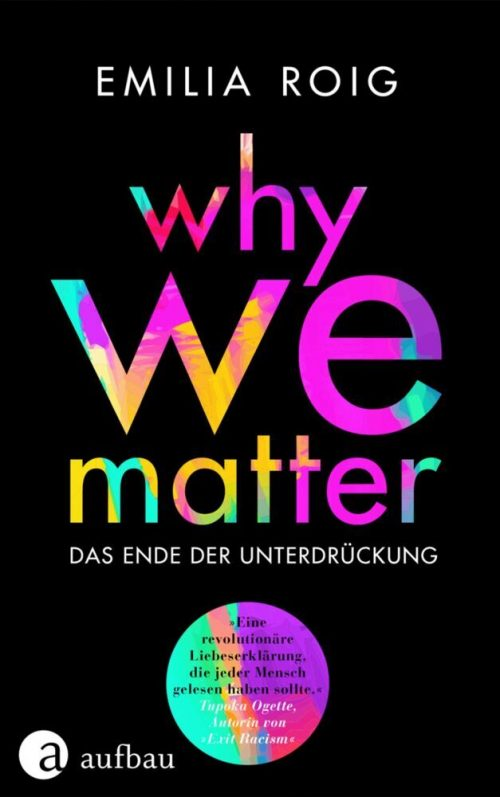 <span style='color: #3c3c3c;'>Emilia Roig</span> <br><span style='font-style: italic; font-weight: bold;'>Why we matter</span>