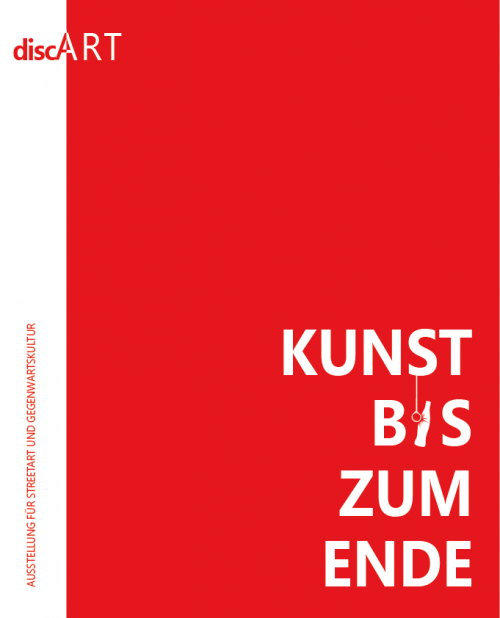 <span style='color: #3c3c3c;'>DiscART</span> <br><span style='font-style: italic; font-weight: bold;'>Kunst bis zum Ende</span>