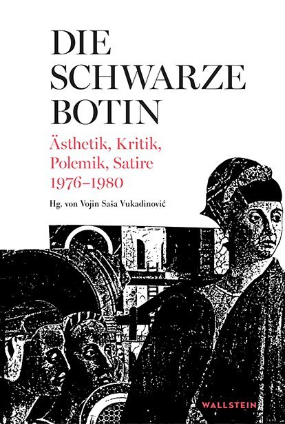 <span style='color: #3c3c3c;'>Vojin Saša Vukadinović</span> <br><span style='font-style: italic; font-weight: bold;'>Die Schwarze Botin</span>