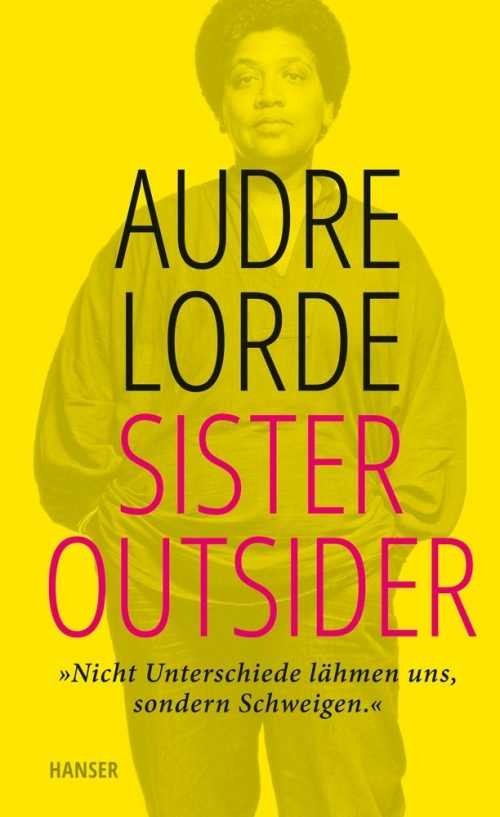 <span style='color: #3c3c3c;'>Audre Lorde</span> <br><span style='font-style: italic; font-weight: bold;'>Sister Outsider</span>