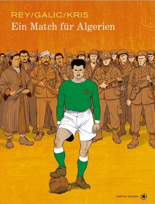 <span style='color: #3c3c3c;'>Javi Rey, Bertrand Galic, Kris</span> <br><span style='font-style: italic; font-weight: bold;'>Ein Match für Algerien</span>