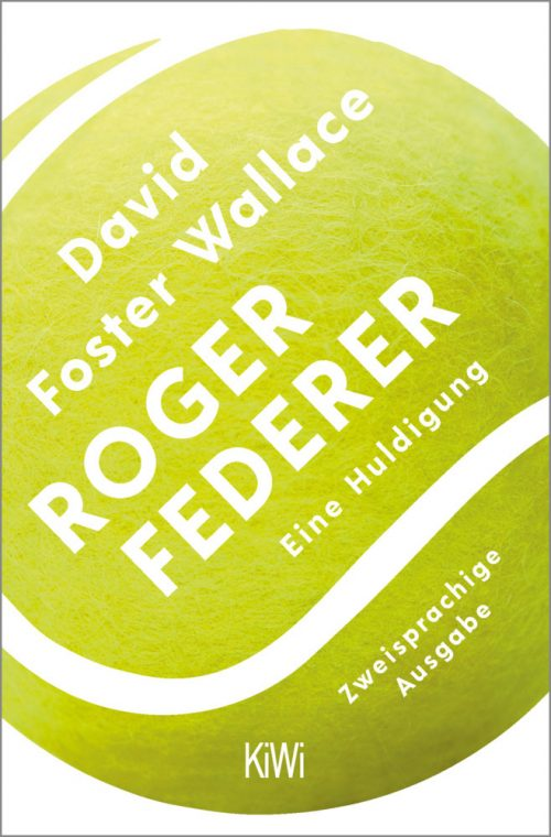<span style='color: #3c3c3c;'>David Foster Wallace</span> <br><span style='font-style: italic; font-weight: bold;'>Roger Federer</span>