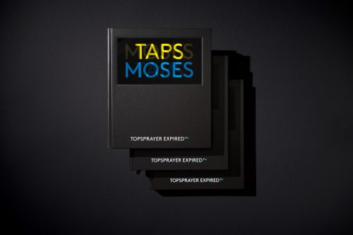<span style='color: #3c3c3c;'>Moses & Taps</span> <br><span style='font-style: italic; font-weight: bold;'>Topsprayer Expired</span>