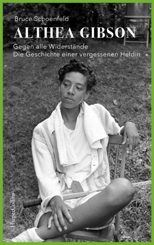 <span style='color: #3c3c3c;'>Bruce Schoenfeld</span> <br><span style='font-style: italic; font-weight: bold;'>Althea Gibson</span>
